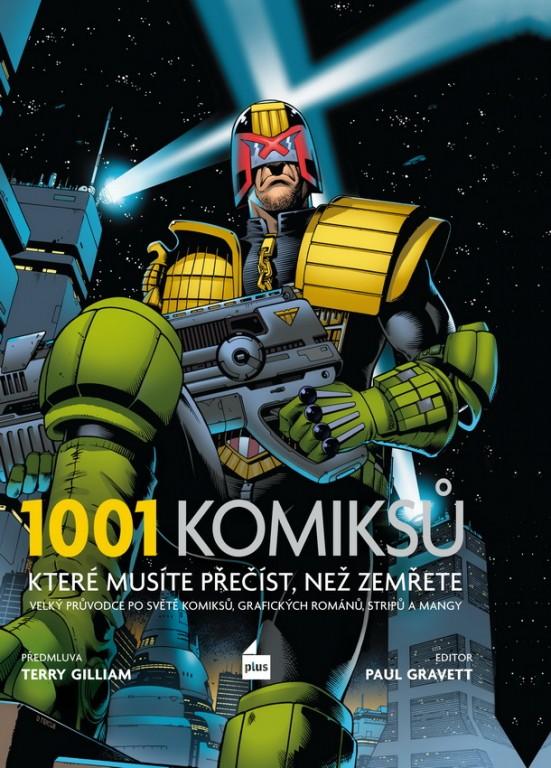 kniha 1001 komiksů, které musíte přečíst, než zemřete v hodnotě 999 Kč