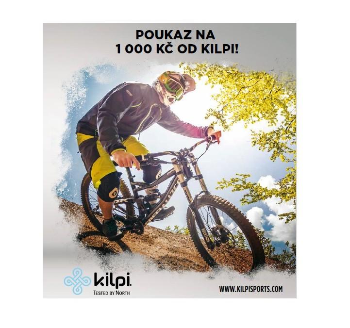 Poukaz Kilpi v hodnotě 1000 Kč