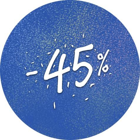 Festivalová sleva 45%