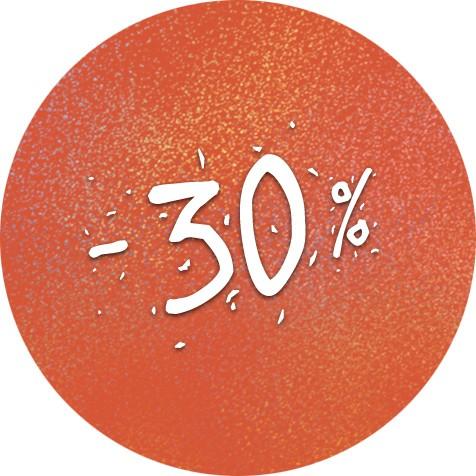Festivalová sleva 30%