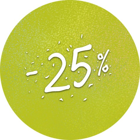 Festivalová sleva 25%