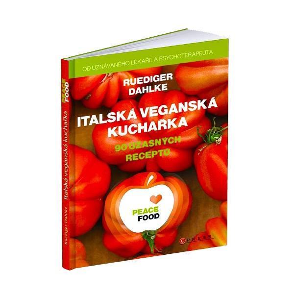 Kniha Italská veganská kuchařka v hodnotě 399 Kč