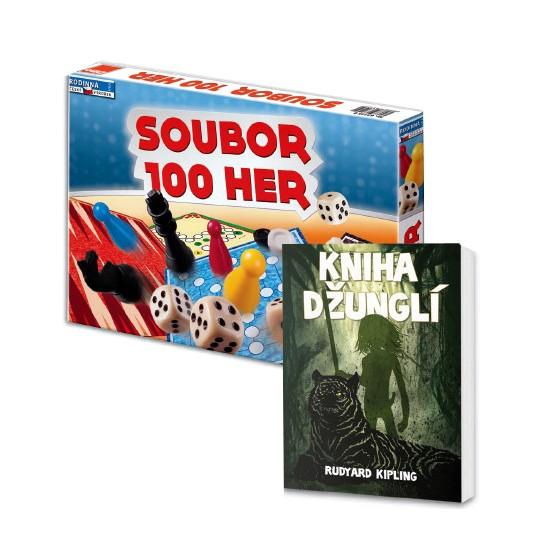 Soubor her 1000 a Kniha džunglí v hodnotě 348 Kč