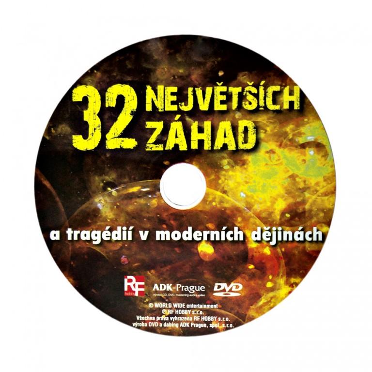 DVD 32 největších záhad