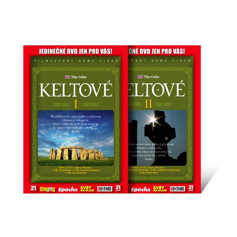 DVD dokument Keltové I. a II.