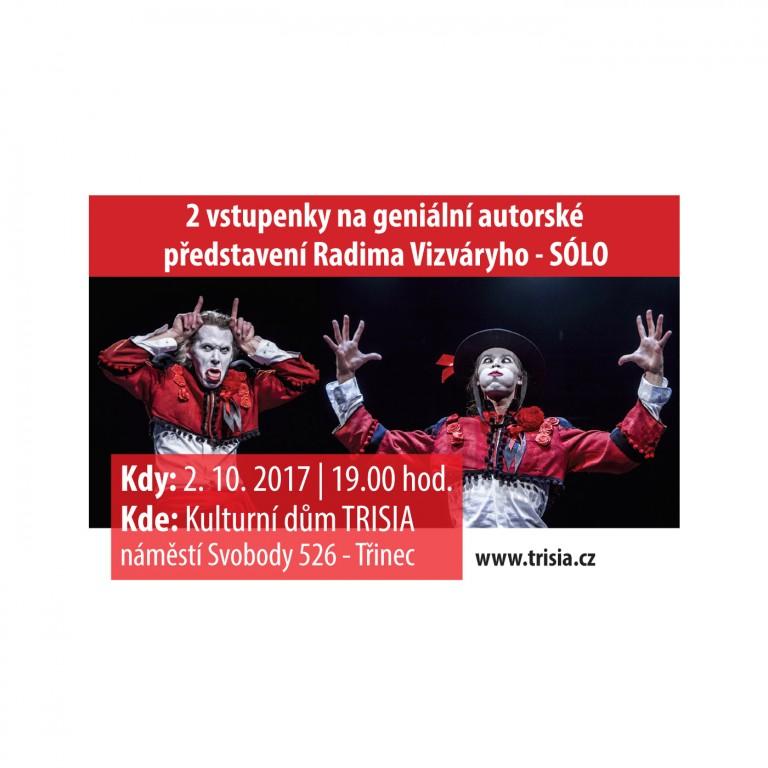 Dvě vstupenky na představení Sólo