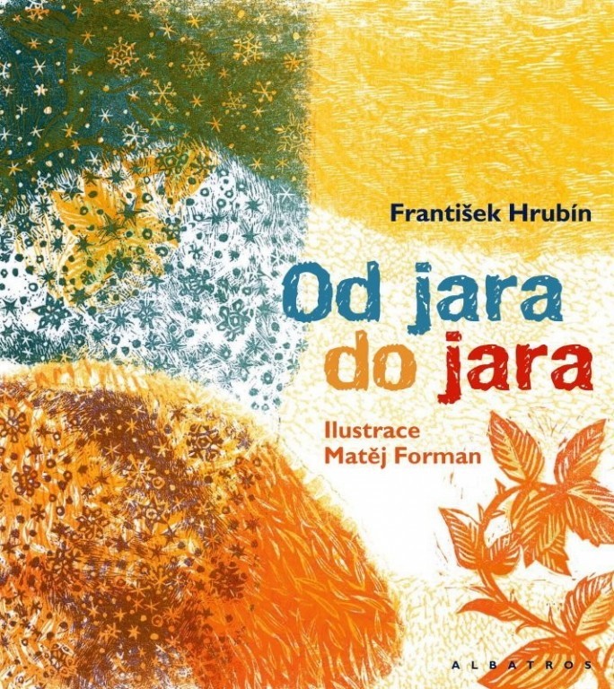 kniha - Od jara do jara - František Hrubín