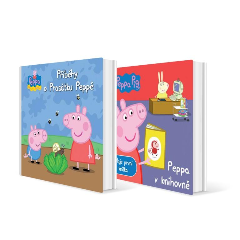 Knihy Prasátko Peppa v hodnotě 398 Kč
