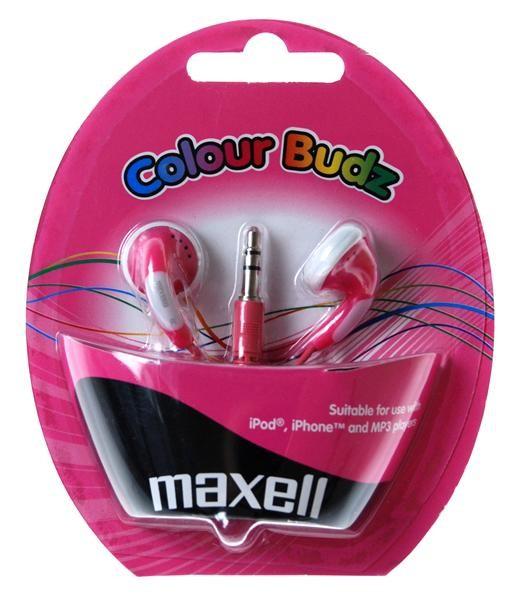 Maxell Colour Budz sluchátka do uší