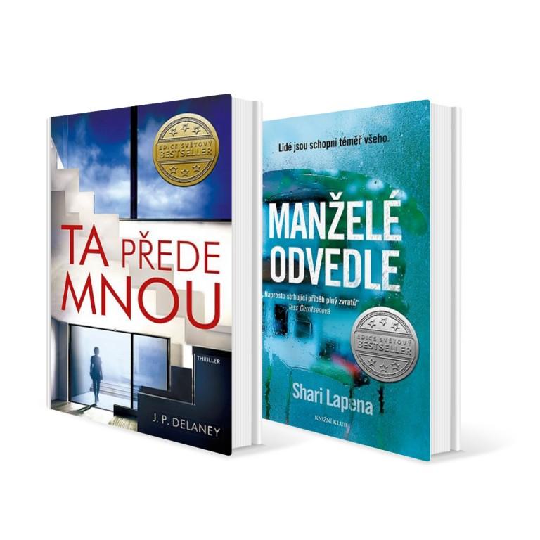 Dva světové bestsellery v hodnotě 648 Kč