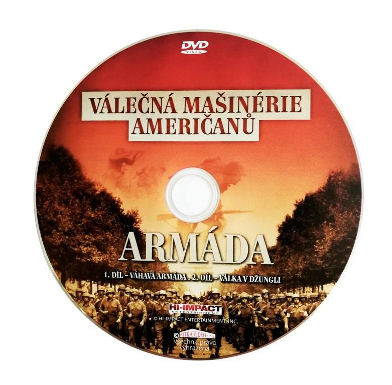 Válečná mašinérie Američanů DVD