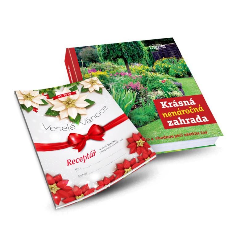 Krásná nenáročná zahrada a vánoční certifikát v hodnotě 897 Kč