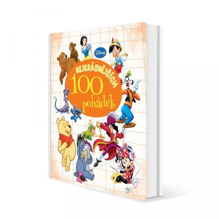 Kniha - 100 nejkrásnějších pohádek