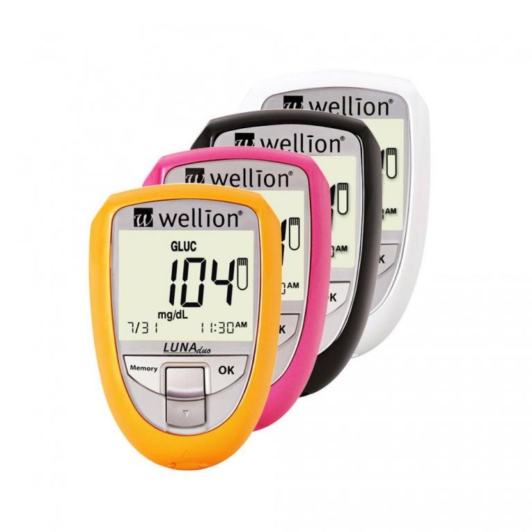 Glukometr Wellion v hodnotě 500 Kč