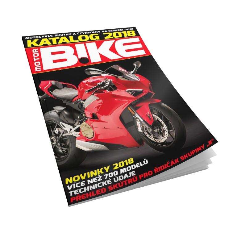 Katalog motocyklů 2018
