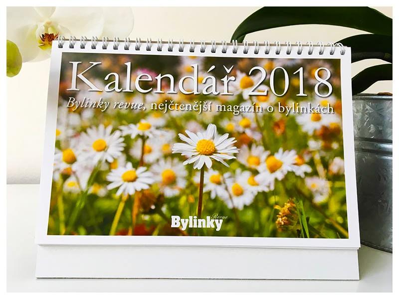 Bylinkový kalendář na rok 2018