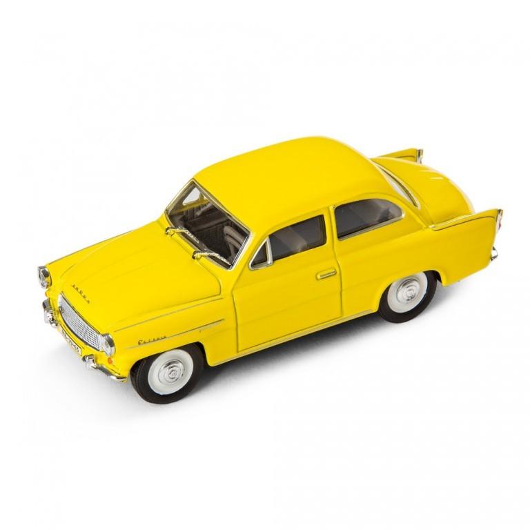 Model Škoda Octavia 1963, žlutá