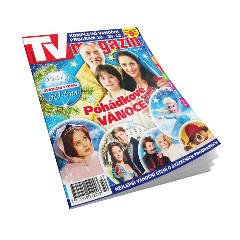 Uvnitř časopis TV magazín zdarma!