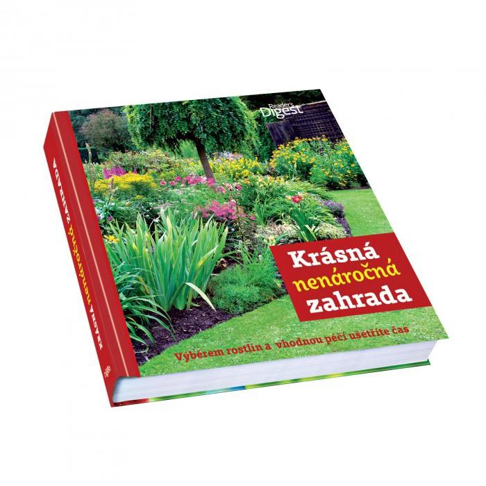 Kniha Krásná nenáročná zahrada v hodnotě 897 Kč