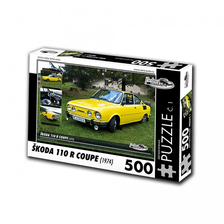 Puzzle Škoda 110 R Coupe (1974)