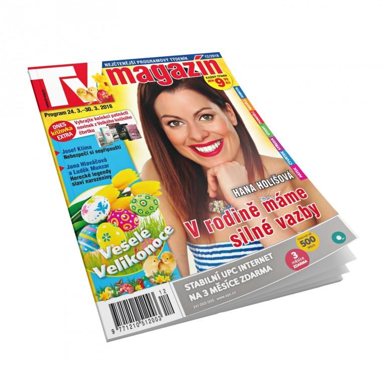 Časopis TV magazín uvnitř zdarma!