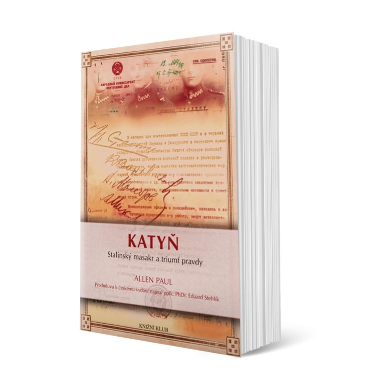 Kniha Katyň