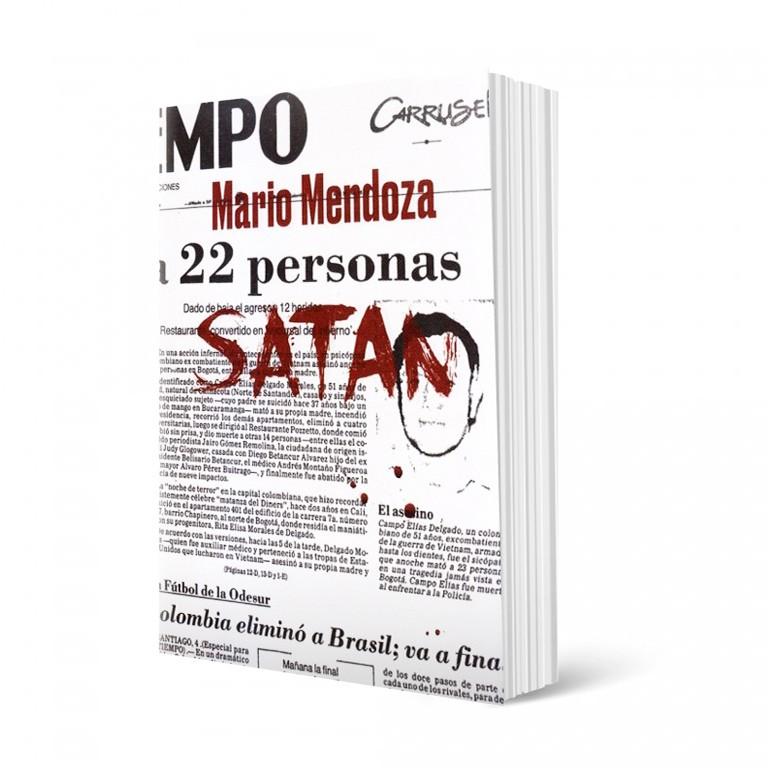 Kniha - Satan od Mario Mendozy