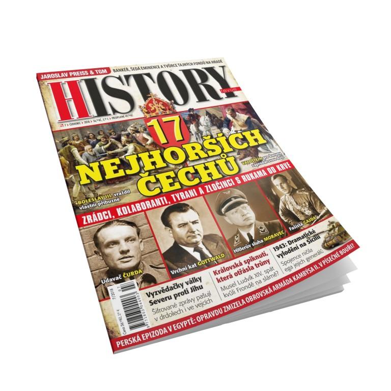 Čtvrtletní předplatné History revue