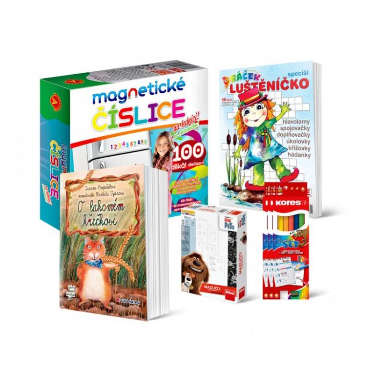 Hračky pro kluky i holky v hodnotě 824 Kč