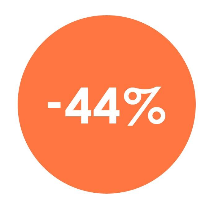 Předplatné se slevou 44%