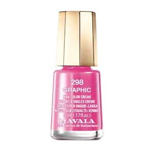 Růžový lak na nehty Mavala