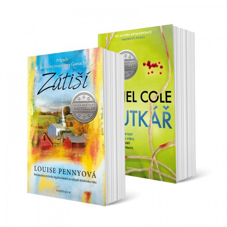 Knihy Zátiší a Loutkář v hodnotě 758 Kč