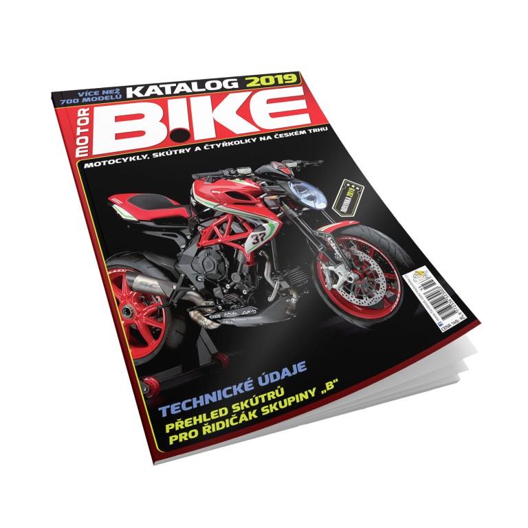 Katalog motocyklů 2019