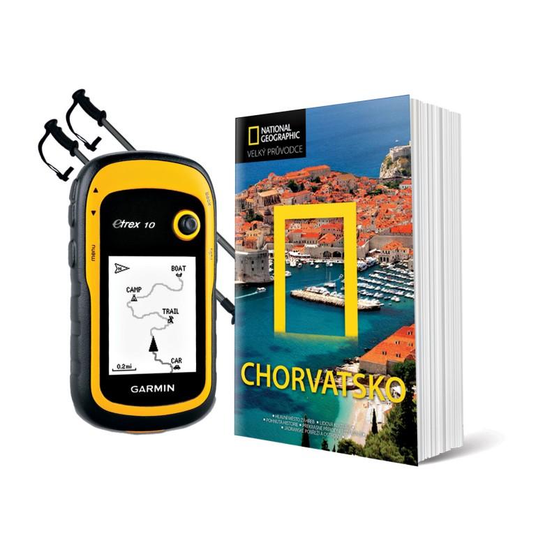 GPS Garmin eTrex 10, hole a průvodce