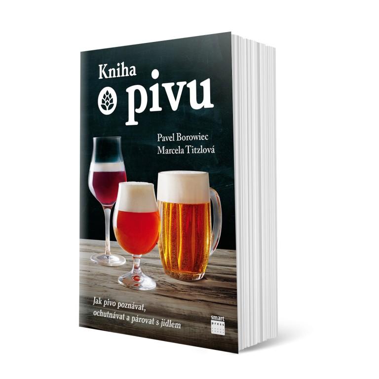 Kniha o pivu v hodnotě 399 Kč
