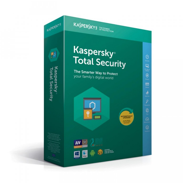 Roční licence Kaspersky Total Security