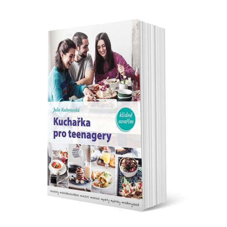 Kuchařka pro teenagery v hodnotě 499 Kč