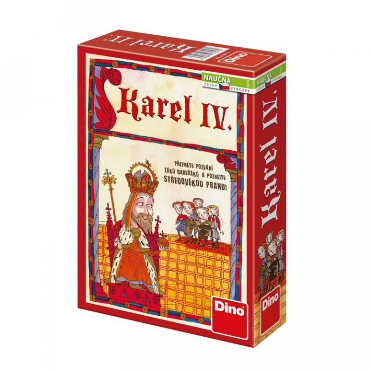 Stolní hra Karel IV. v hodnotě 329 Kč