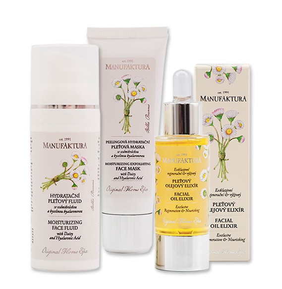 Balíček pleťové kosmetiky Sedmikráska od značky Manufaktura