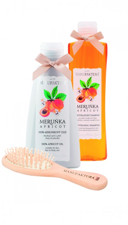Kosmetický balíček Meruňka od značky Manufaktura