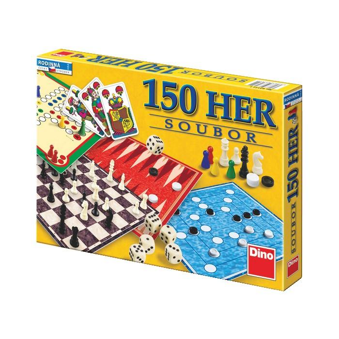Velký soubor 150 her v hodnotě 279 Kč
