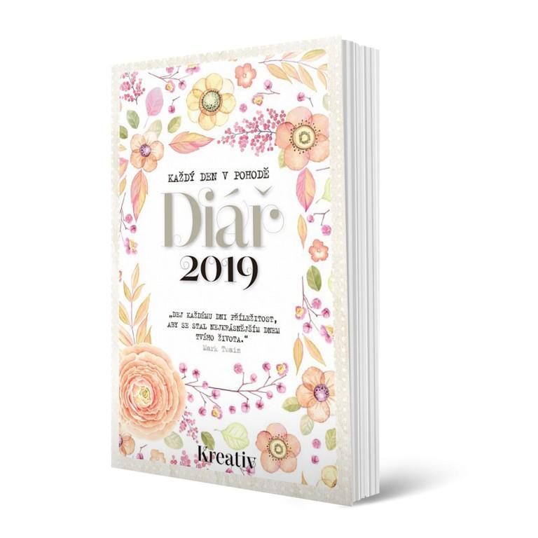 Kreativní Diář 2019 v hodnotě 365 Kč