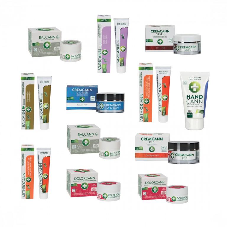 Balíček přírodní konopné kosmetiky