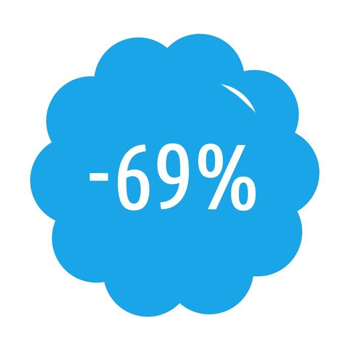 Předplatné se slevou 69%