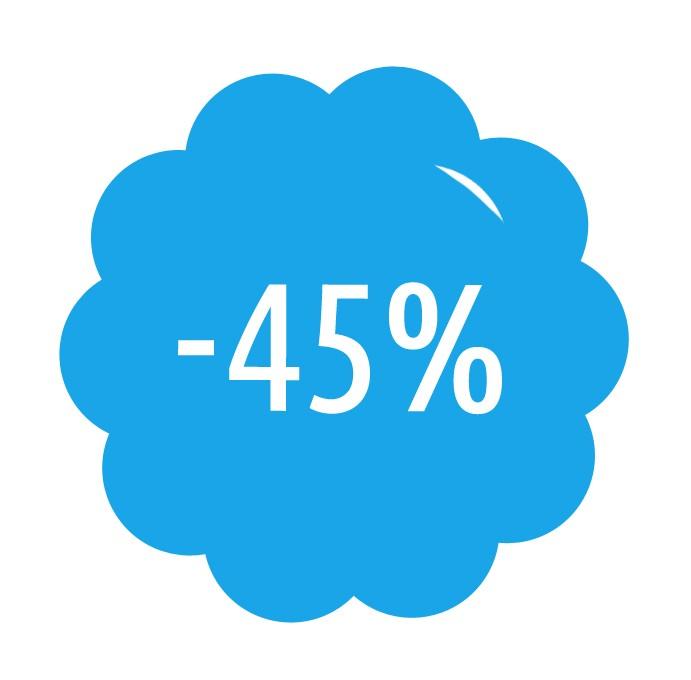Předplatné se slevou 45%