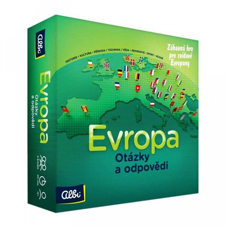 Hra - Evropa - otázky a odpovědi od Albi