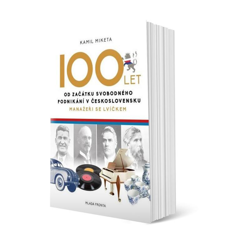 100 let od podnikání v hodnotě 349 Kč