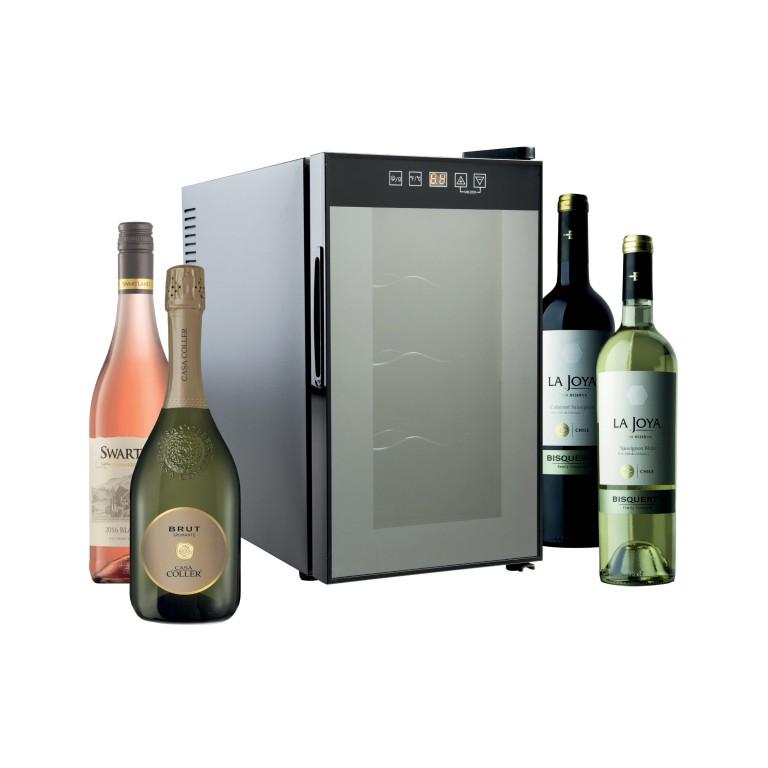 Vinotéka BCW - 25A se čtyřmi víny
