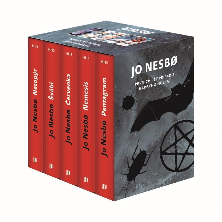 Knižní Box - Jo Nesbo - Prvních pět případů Harryho Holea