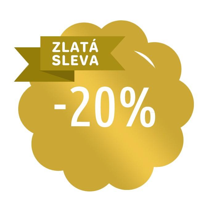 Roční předplatné se zlatou slevou 20%